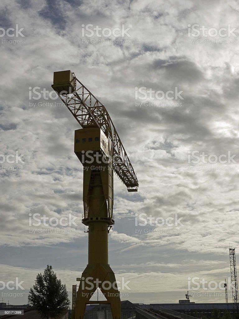 Grue Titan stock photo