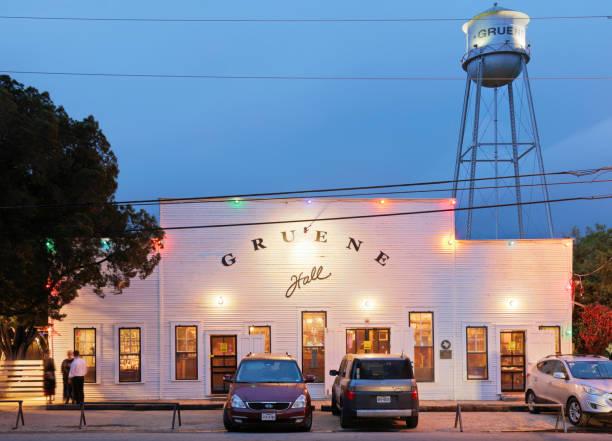 Gruene Hall - Texas stock photo