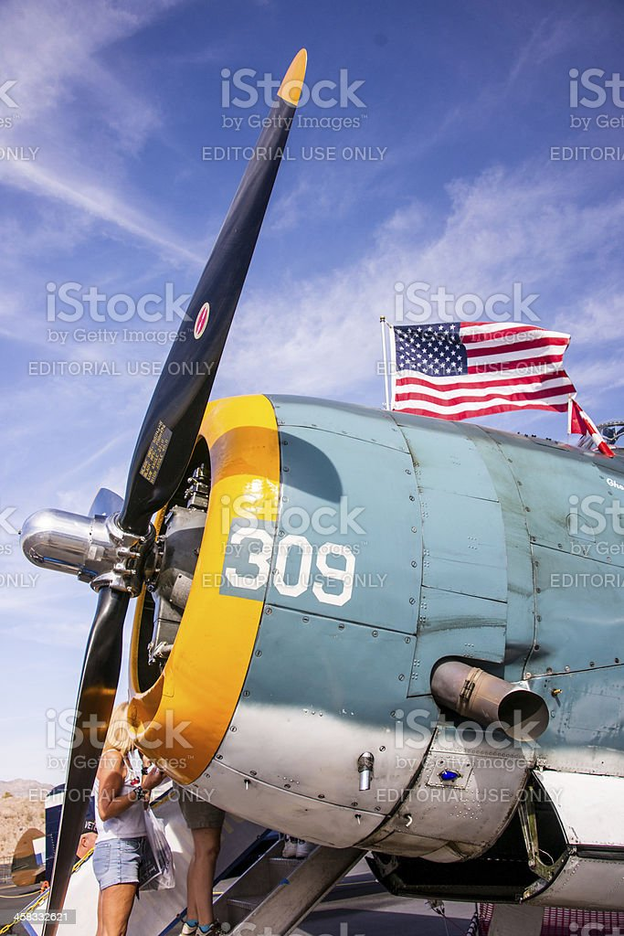 Grumman TBF Avenger royalty-free stock photo