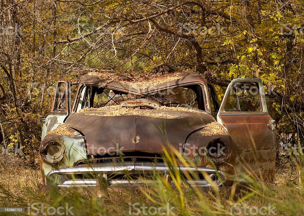Grumpy Old Car royalty-free stock photo