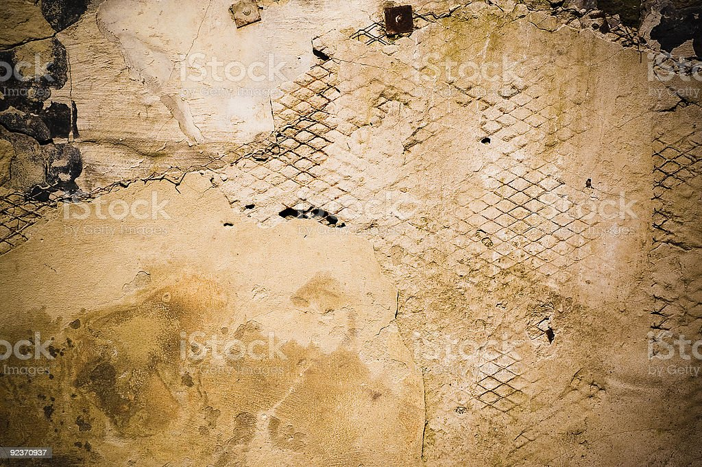 grundge (old wall) royalty-free stock photo