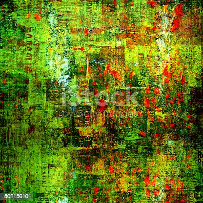 istock Grunge abstract background with old torn posters 502156101