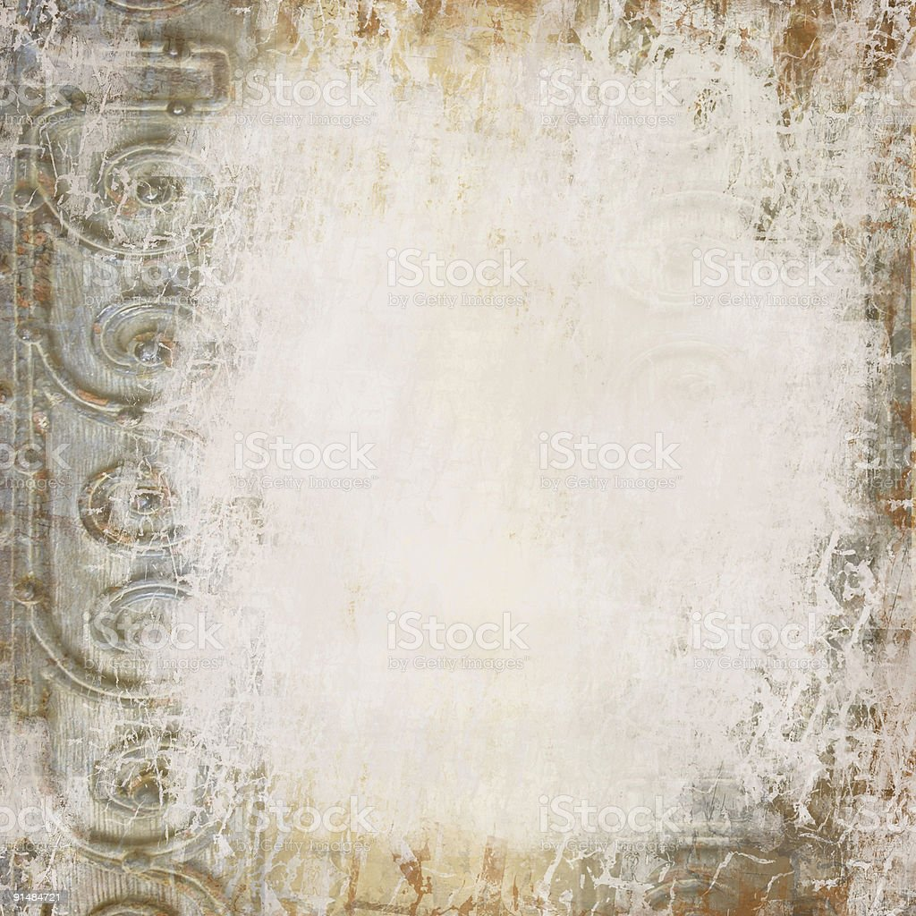 Grunge Abstract Metal Background royalty-free stock photo