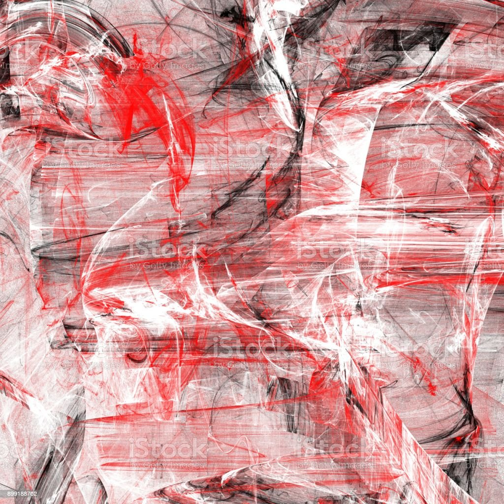 Grunge abstract red background on white backdrop stock photo
