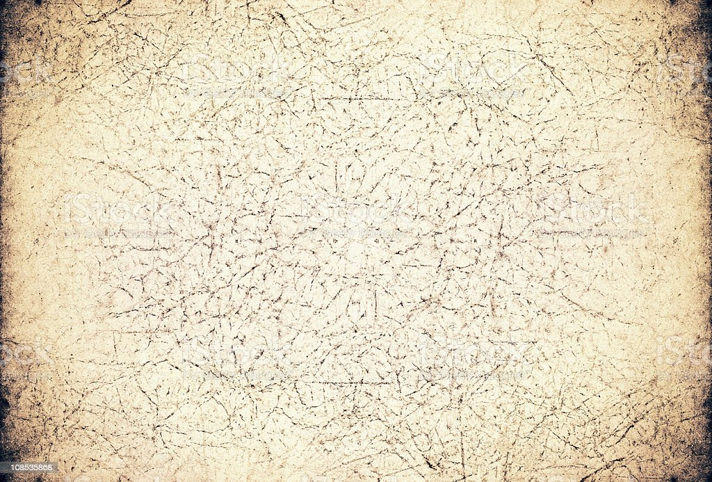 Grunge aged paper background royalty-free stock photo