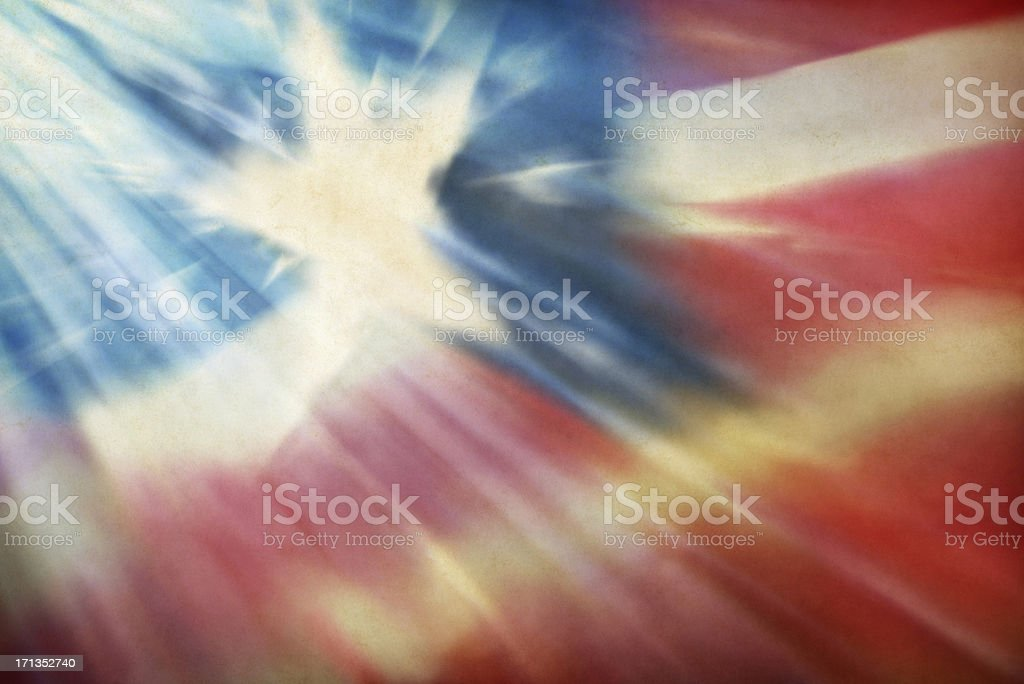 Grunge American Flag Background royalty-free stock photo