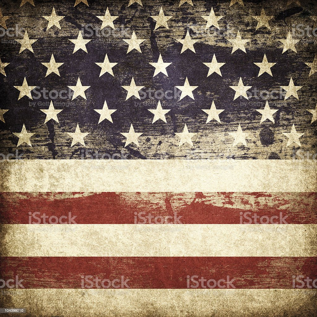 Grunge american patriotic theme background. stock photo