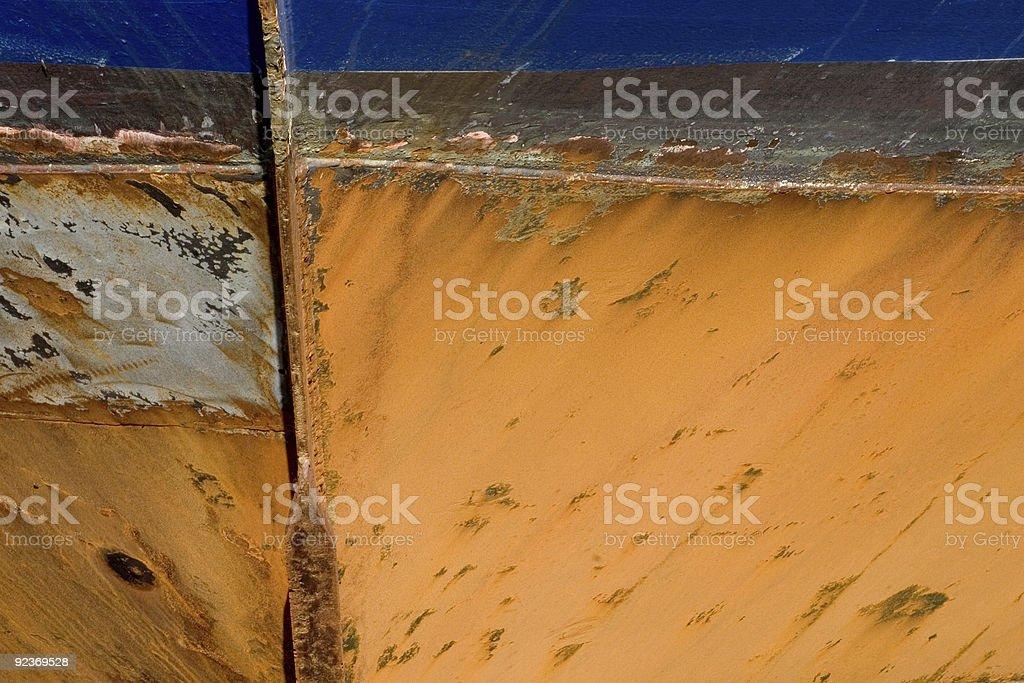 Grunge Background 29:Ship Hull royalty-free stock photo