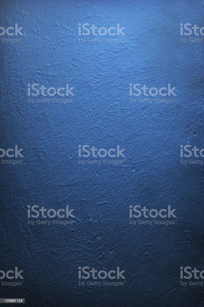 Fond Grunge Texture de mur, bleu profond - Photo