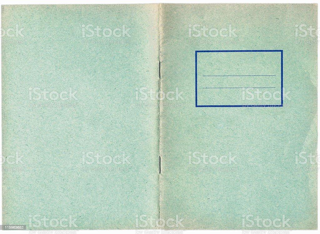 grunge background exercise book royalty-free stock photo