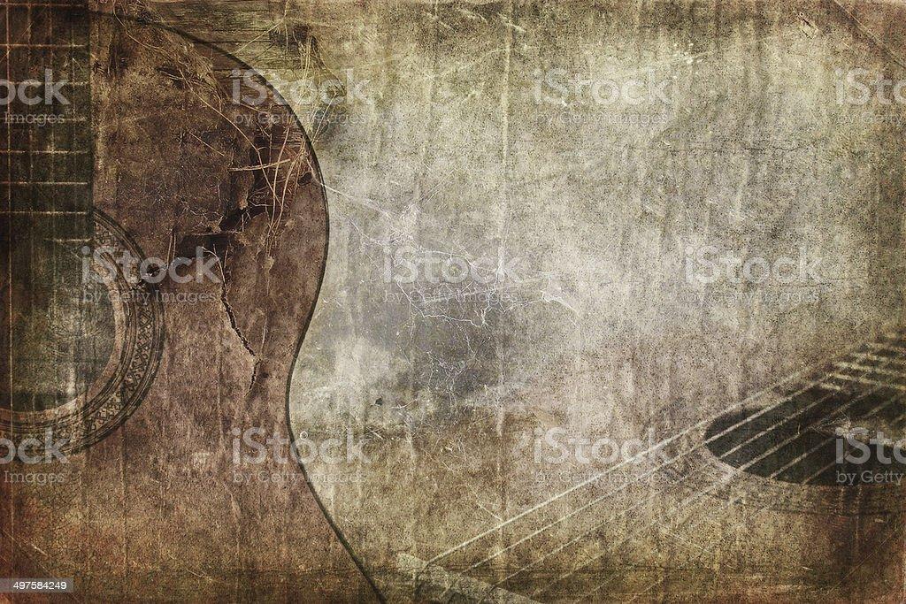 Fond Grunge guitare - Photo