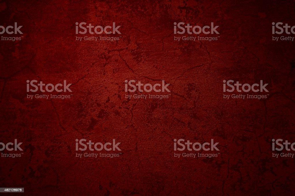 Grunge sfondo di rosso muro di pietra - foto stock