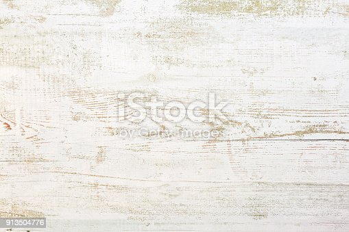 istock Grunge background. Peeling paint on an old wooden floor 913504776