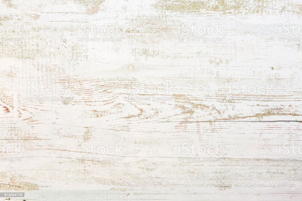 Grunge background. Peeling paint on an old wooden floor stock photo