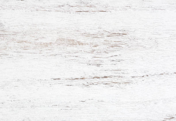grunge background. peeling paint on an old wooden table. white wooden texture for background.  top view. - paint texture stock pictures, royalty-free photos & images