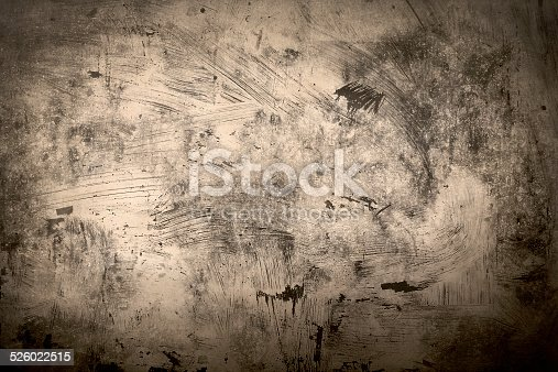 abstract background old grunge painting sepia and black vignette frame