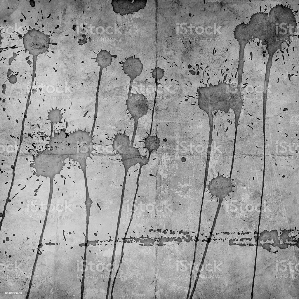 grunge background with abstract paint stains royalty-free stock photo
