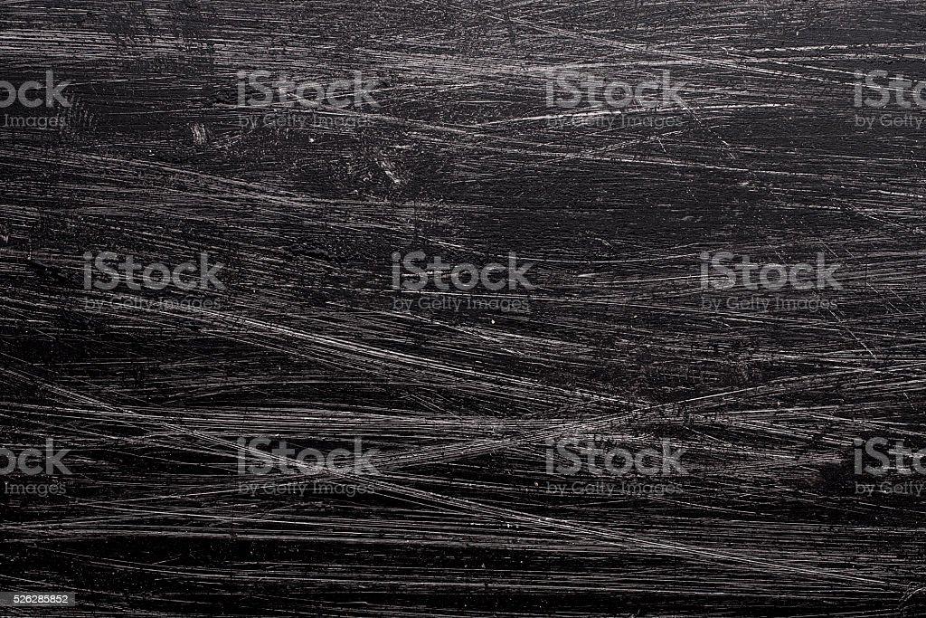 Grunge background with black paint brush stock photo