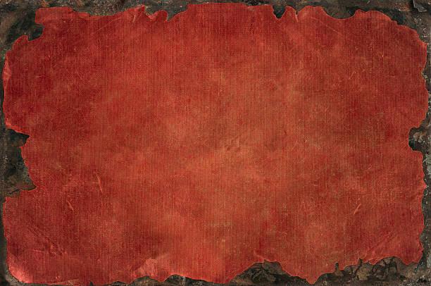 grunge hintergrund mit gebleichtem not textur mit rostigen eisen frame - rostrot stock-fotos und bilder
