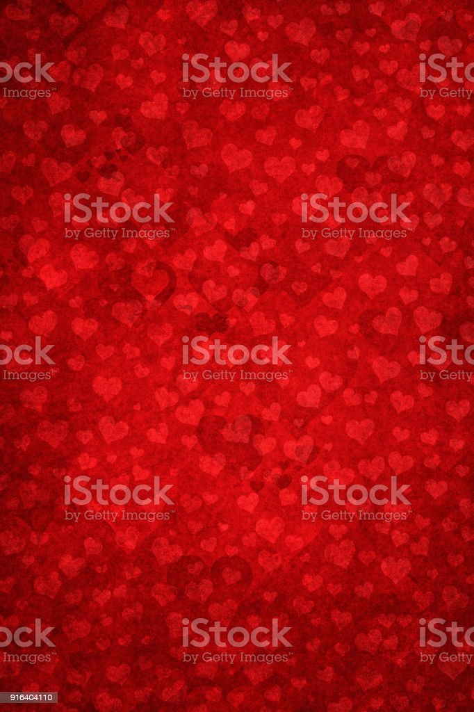 Grunge background with heart shapes stock photo
