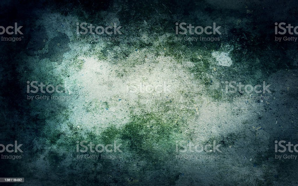 Grunge background with mould stains royalty-free stock photo