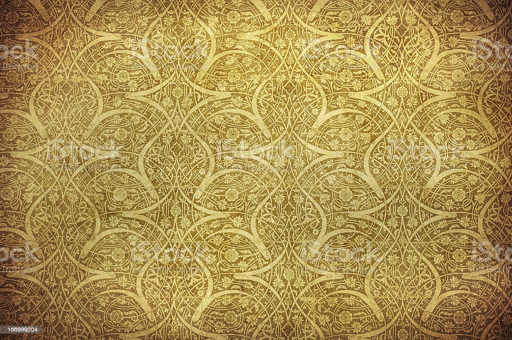 grunge background with oriental ornaments royalty-free stock photo