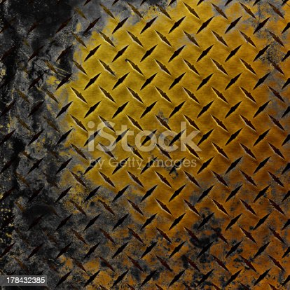 istock Grunge background,concept of metal plate 178432385