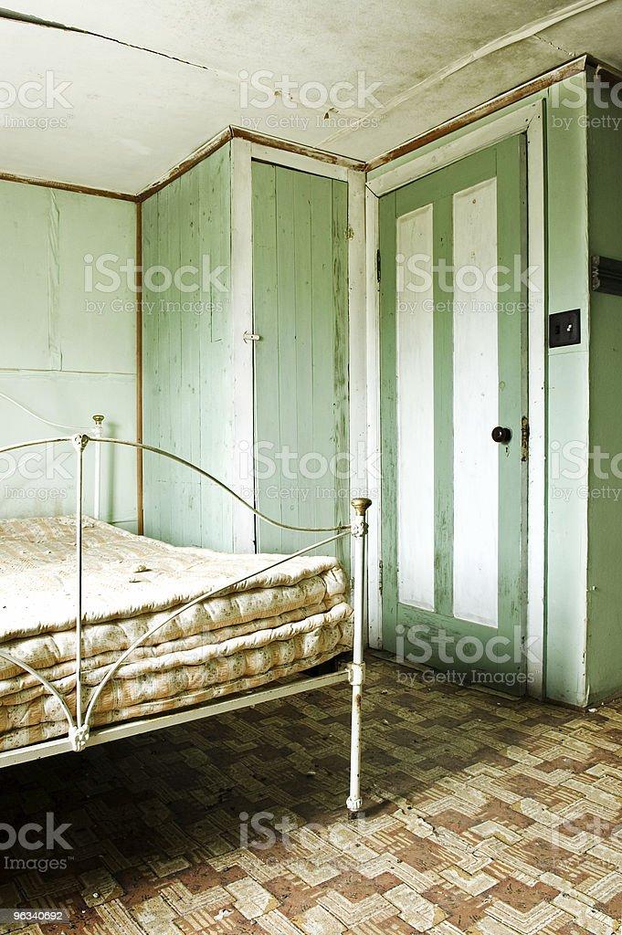 Grunge Bedroom royalty-free stock photo