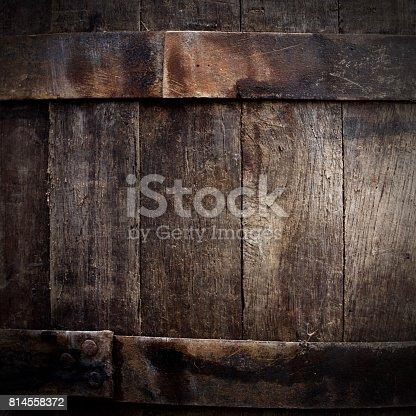 istock Grunge beer barrel 814558372