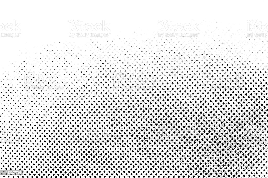 Grunge Black And White Distress Dot Texture Background Halftone ...