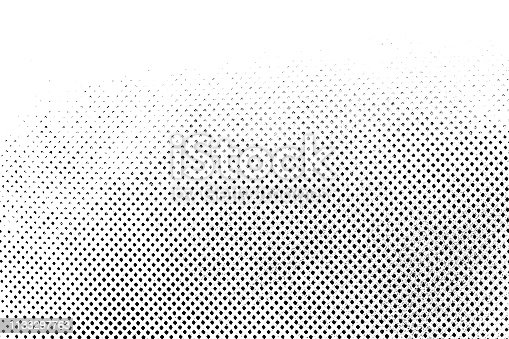 istock Grunge Black and White Distress. Dot Texture Background. Halftone Dotted Grunge Texture. 1133297763