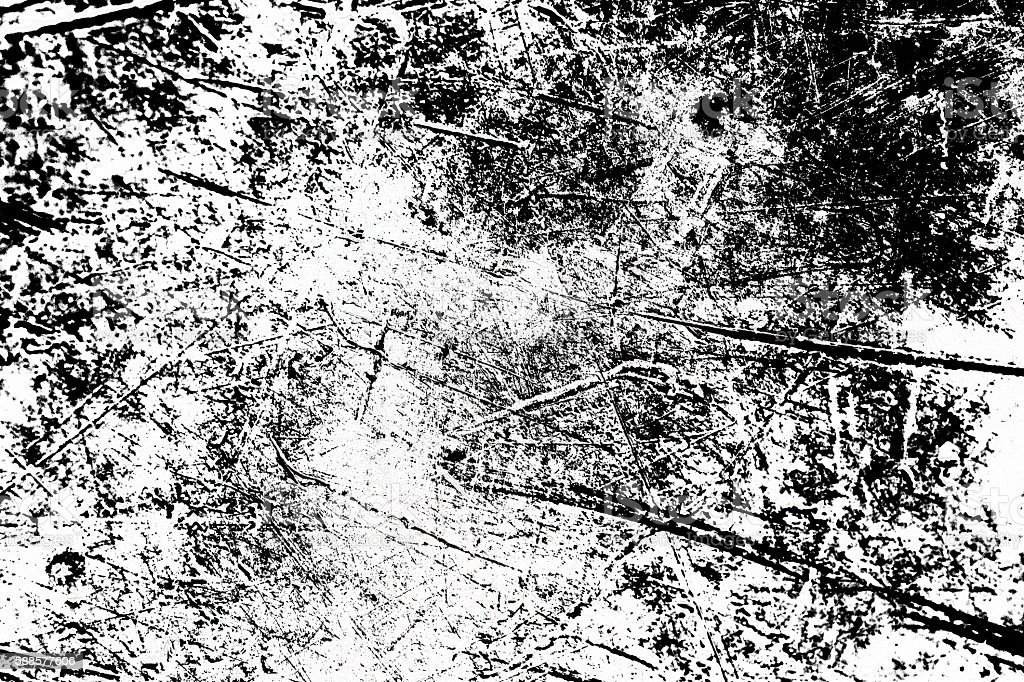Grunge Black and White Distress Texture Background. stock photo
