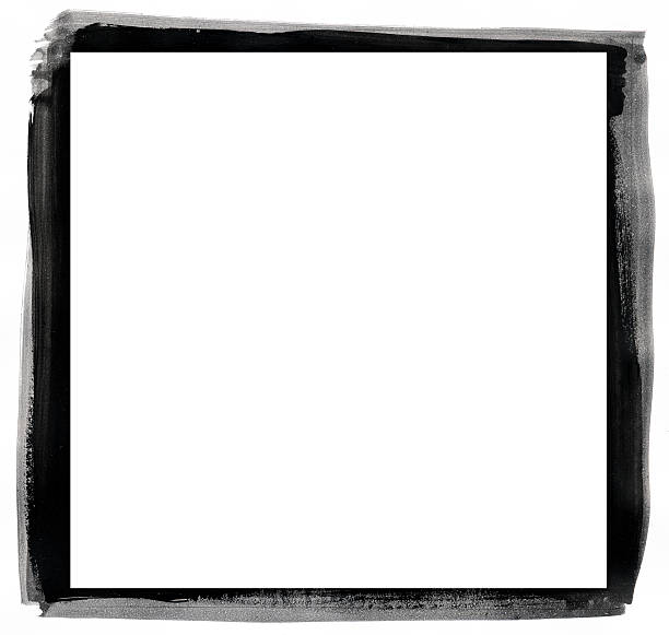 Grunge black and white frame .Grunge black and white frame ideal for pictures. black border stock pictures, royalty-free photos & images