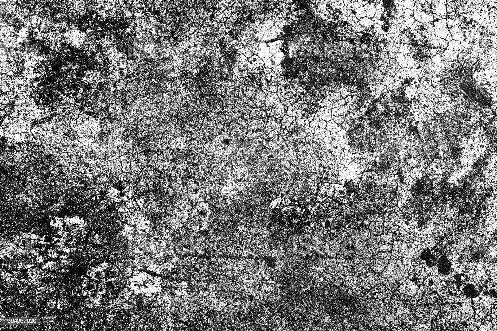 Grunge Black And White texture background - Royalty-free Art Stock Photo