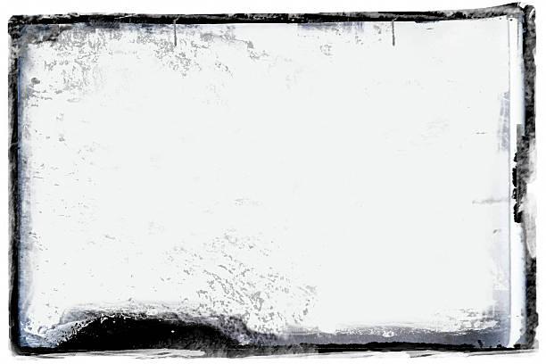 Grunge black border stock photo
