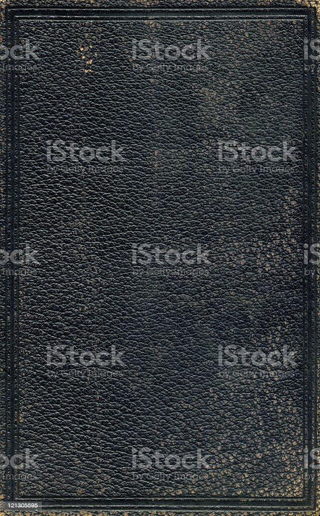 grunge schwarzem Leder – Foto