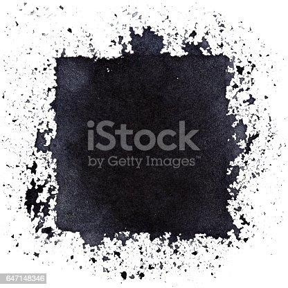 istock Grunge black square 647148346