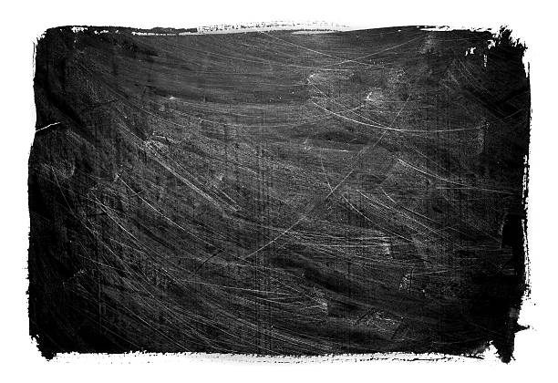 grunge-tafel textur hintergrund isoliert - kreide schriftzüge stock-fotos und bilder