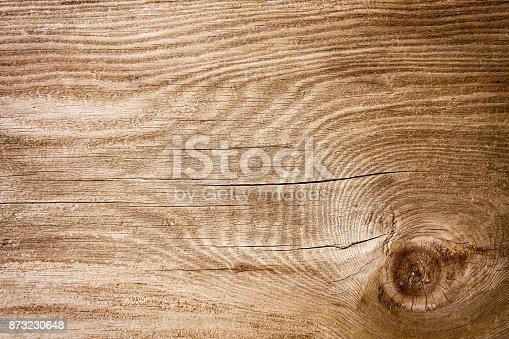 istock Grunge blank wood textured background 873230648