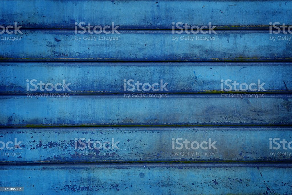 Grunge blue metallic texture royalty-free stock photo