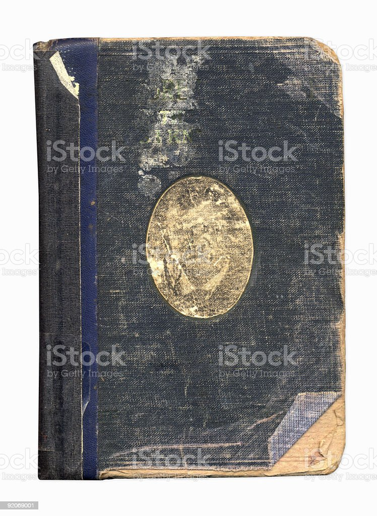 Grunge Book Cover XXL royalty-free stock photo