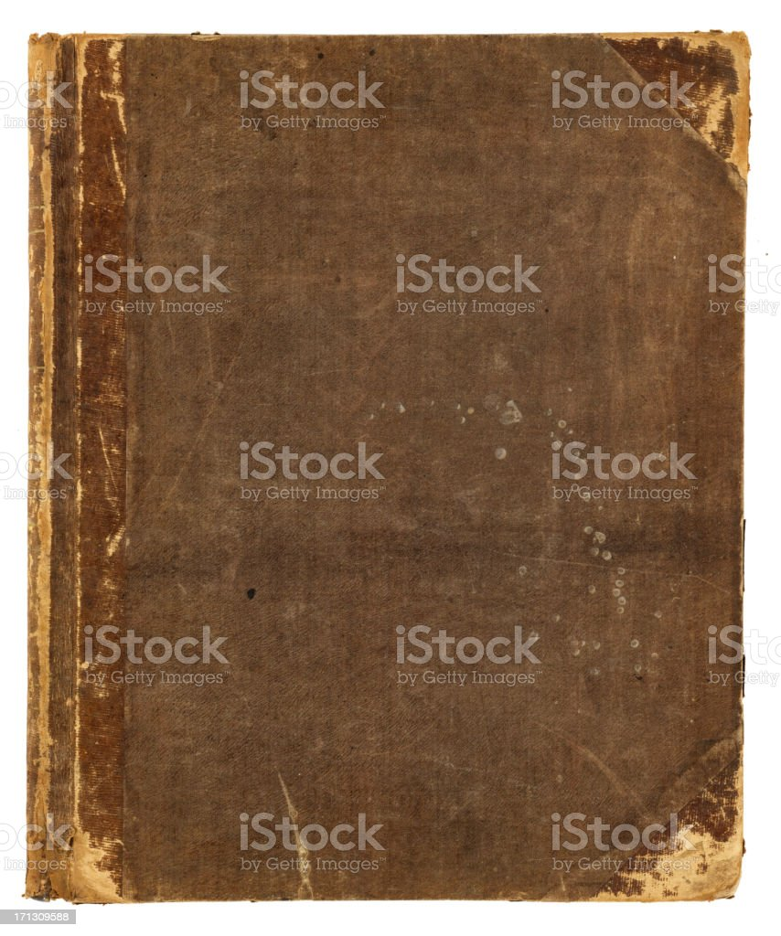 grunge book royalty-free stock photo