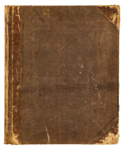 grunge libro - foto stock