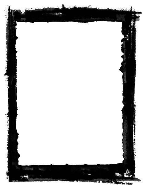 Grunge-Grenze – Foto