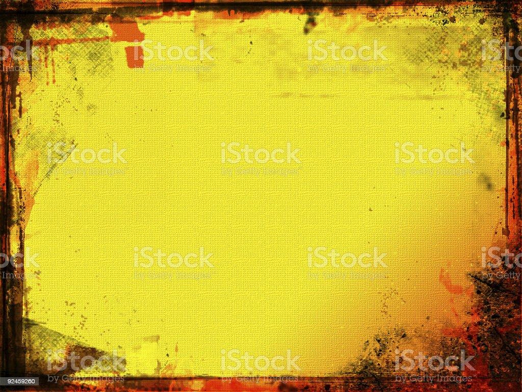 Grunge border royalty-free stock photo