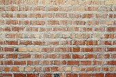 Grunge brick wall dirty with cement texture abstract background