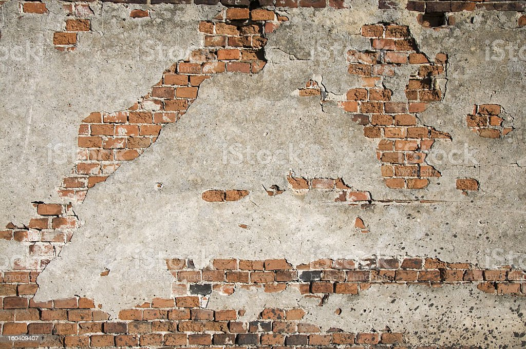 Grunge Brick Wall stock photo