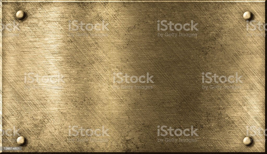 grunge bronze or brass metal background stock photo