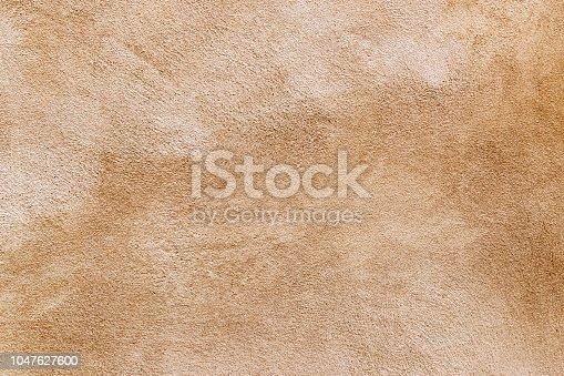grunge brown concrete wall textured background.