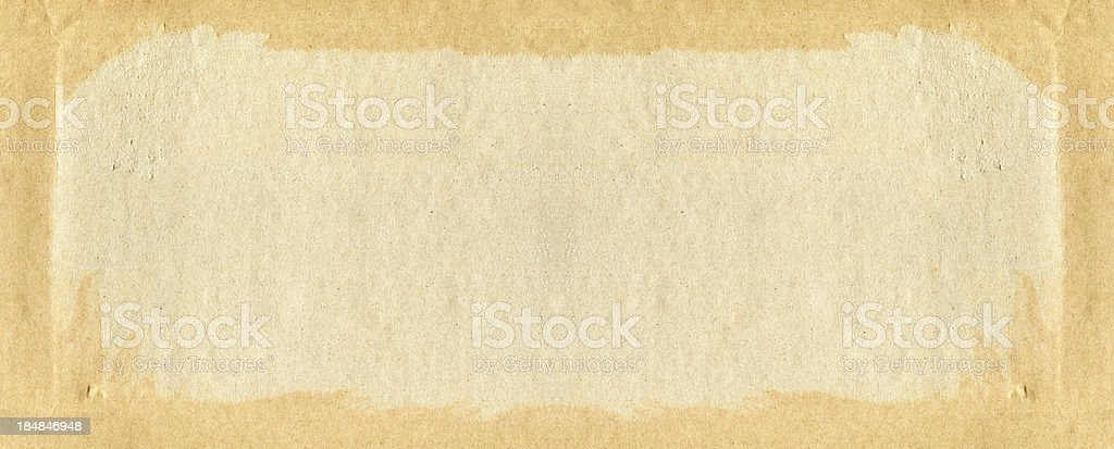 Grunge brown paper texture royalty-free stock photo